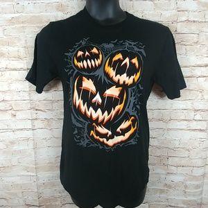 Halloween pumpkin tee shirt size 2XL